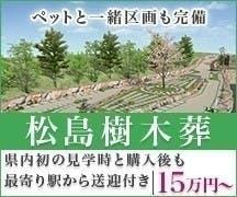 宮城県トップバナー(松島樹木葬)