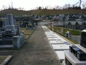 熊谷寺墓地の画像