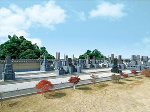 香積寺墓苑の画像
