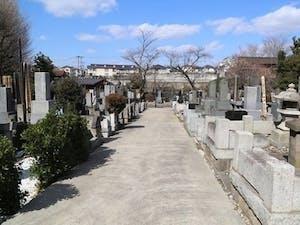 大本山 法華経寺墓苑の画像