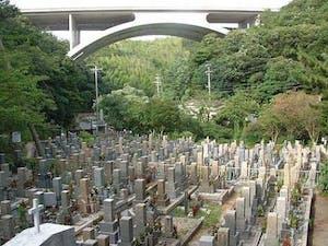淡路市営 岩屋茶間墓地の画像