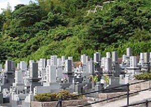 宍粟市営 金谷墓地の画像