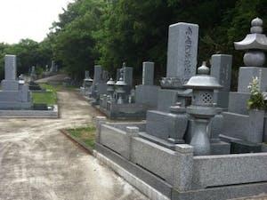丸亀市営 天神墓地の画像