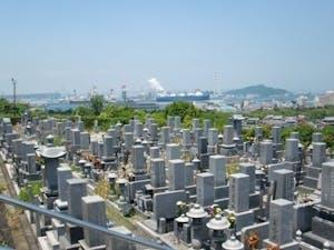 坂出市営 新田尾墓地の画像