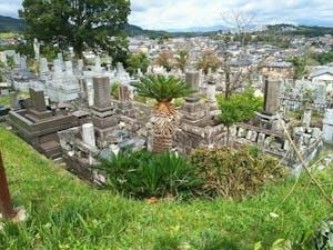 熊本市営 花園墓地の画像