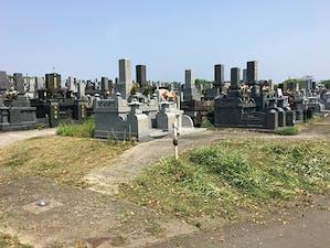 山鹿市営墓地の画像