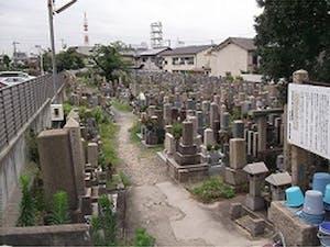 吹田市有川面墓地の画像