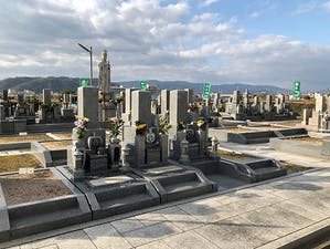 八幡市営 隅田墓地の画像