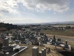 綺田墓地の画像