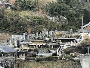 神童子墓地の画像