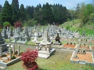 南砺市営 福野墓地の画像