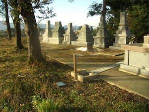 南砺市営 城端墓地の画像