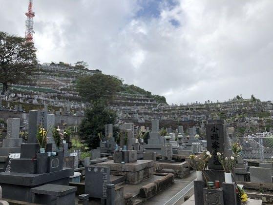 鹿児島市営 郡元墓地