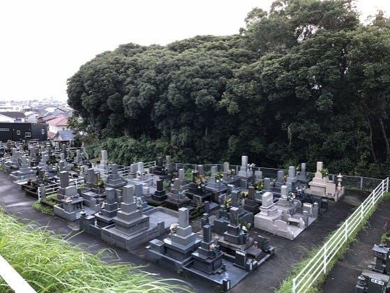 鹿児島市営 万田ヶ宇都墓地