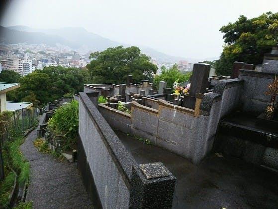 長崎市営 浦上墓地