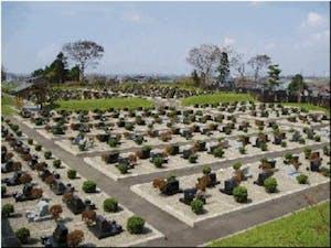 秋田市営 南西墓地の画像