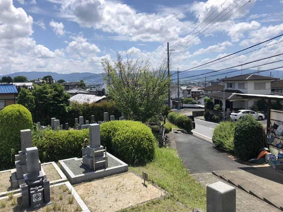 奈良市営 七条町南山墓地