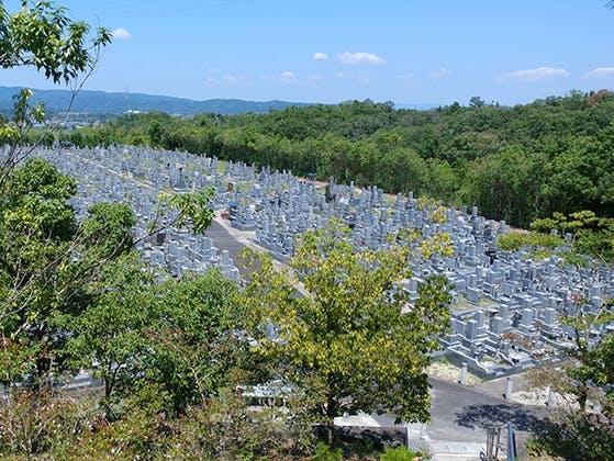 名張市営 東山墓園