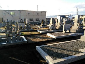 本巣市営 溝口墓地の画像