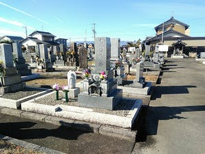 駒塚墓地の画像