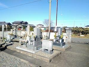 一色墓地の画像