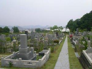 各務原市営 公園墓地 瞑想の森の画像
