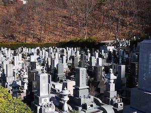 須坂市営 坂田霊園の画像