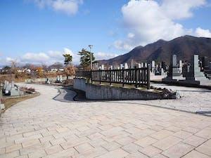 須坂市営 松川霊園の画像