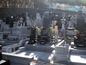 上田市霊園の画像