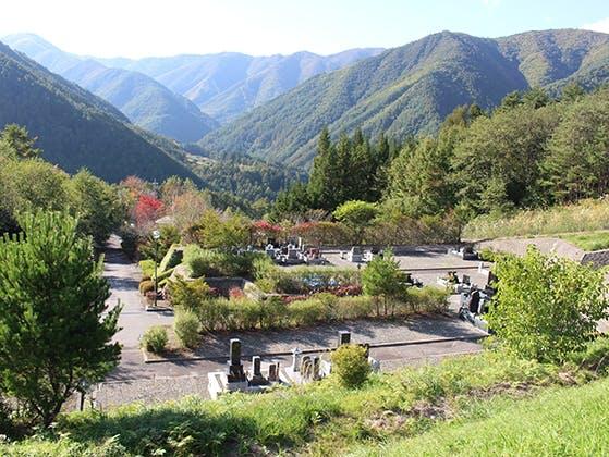 松本市営 奈川霊園