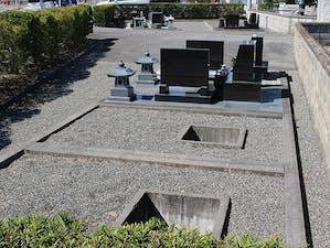 松本市営 横沢霊園の画像