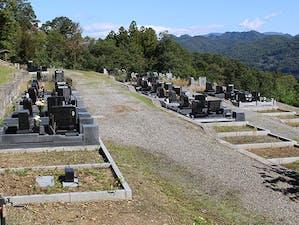 安曇野市営 荻原公園墓地の画像