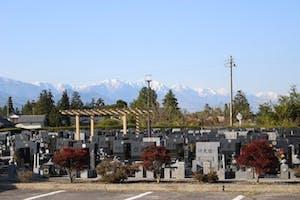 安曇野市営 上沢霊園の画像