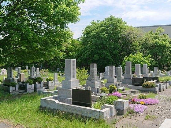 石狩市営 花畔墓地