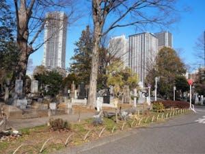 都立 雑司ヶ谷霊園の画像