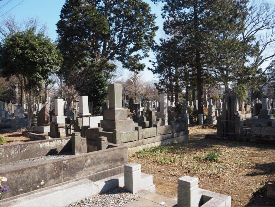 都立 雑司ヶ谷霊園