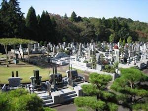 袖ヶ浦市営 墓地公園の画像