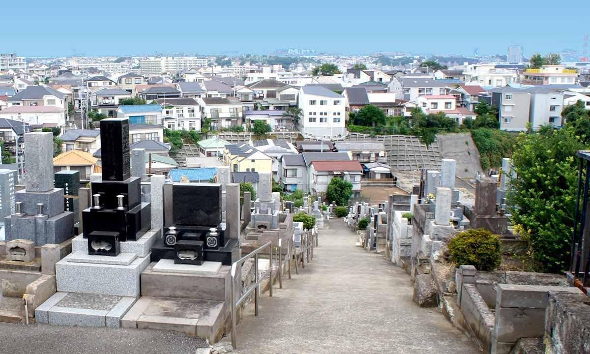 横浜市営 久保山墓地
