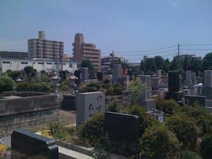 相模原市営 柴胡ヶ原墓地の画像