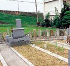 篠原墓地の画像