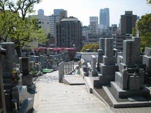齢延寺墓地の画像