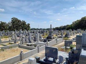 辰巳山墓苑の画像