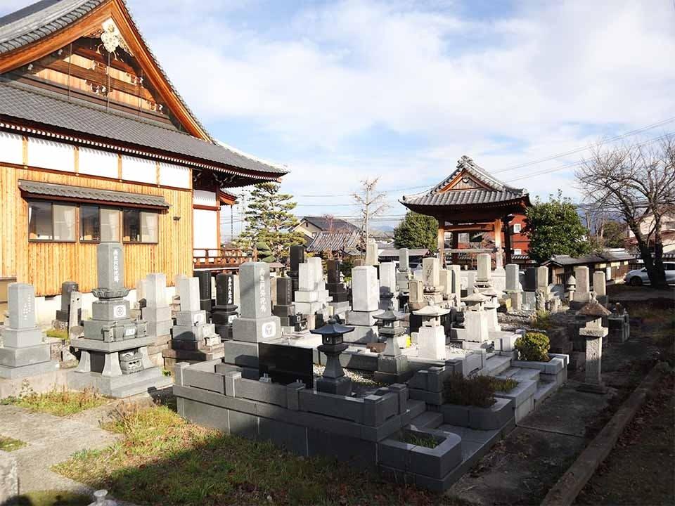 常福寺墓地