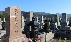 観音寺墓地の画像