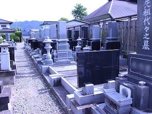 典厩寺墓地の画像