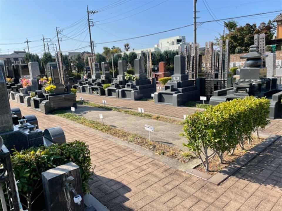 越谷あおば墓園