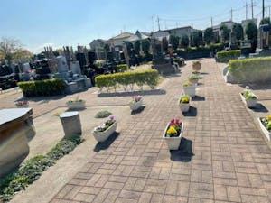 越谷あおば墓園の画像