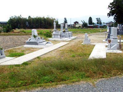 下内竹墓地