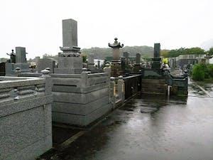 島原市営 釘原墓地の画像
