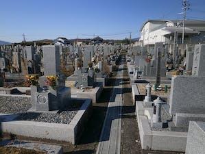 五條市墓地(西岡墓地)の画像